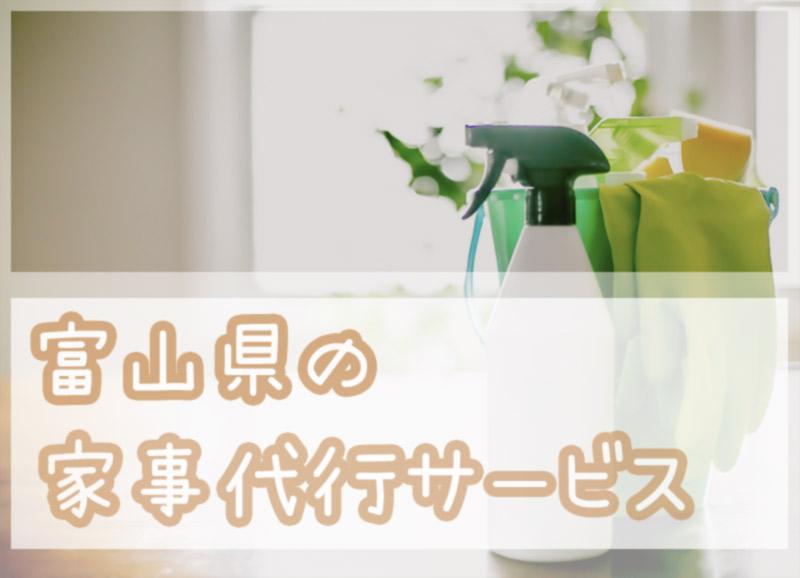 富山県の家事代行サービス